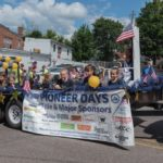 Northland was also available to help thank the Pioneer Days sponsors by towing the float with their tractor.