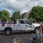 We love seeing organizations like the American Red Cross jump in the parade too!