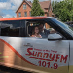 Kelsey Reyes and Walt Lindala from the Sunny Morning Show on Sunny.FM 101.9!