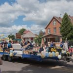 Float in the 2019 Pioneer Days festival parade