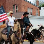 Horses in the 2019 Pioneer Days festival