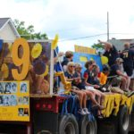 Class of '79 float in Pioneer Days festival