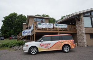 We were live from Marquette Golf Club on Sunny.FM 101.9 for the Bay Cliff Open!