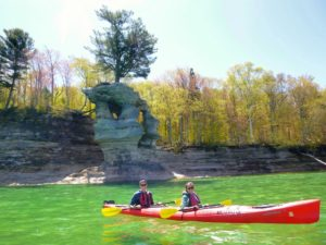 See the famous Chapel Rock that is in the Pictured Rocks National Lakeshore Quarter!