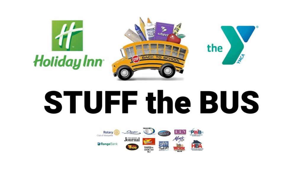 Help Support Marquette County Students During Annual Stuff the Bus Event