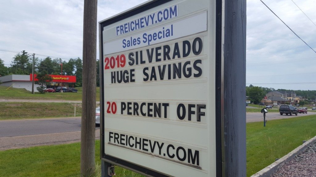 Huge Discounts at Frei Chevrolet