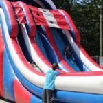 Kids loved the Double Trouble inflatables