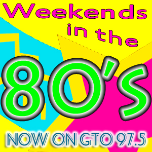 Eighty's Music on GTO 97.5