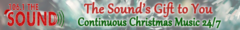Listen to Christmas Music 24/7 on 106.1 The Sound