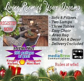 Living Room of Your Dreams Giveaway