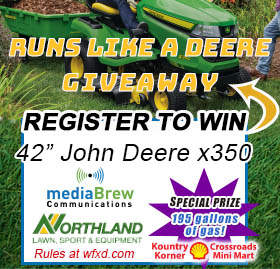 Runs Like A Deere Giveaway