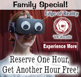 Family Special - Rent 1 Hour, Get One Free