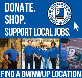 Donate & Shop at Goodwill NWUP