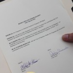 City of Negaunee gives Fox Negaunee Resolution of Commendation