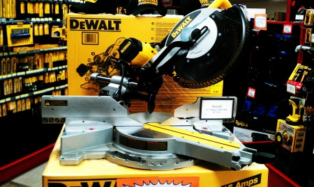 Cattrons Lumber DeWalt Saw Marquette