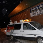 Christmas To Remember 2011 - Sunny 101.9 Van at Country Village Banquet & Conference Center - Ishpeming, Michigan