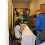 Christmas To Remember 2011 - People Registering with Amy and Jordan