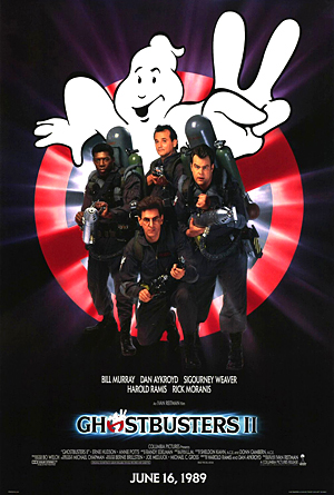 Ghostbusters 2 Poster