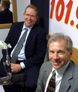 Dennis Liimatta and Randy Girard