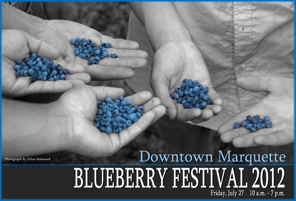 Marquette Blueberry Festival 2012