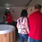 the Rec Depots hot tub sale