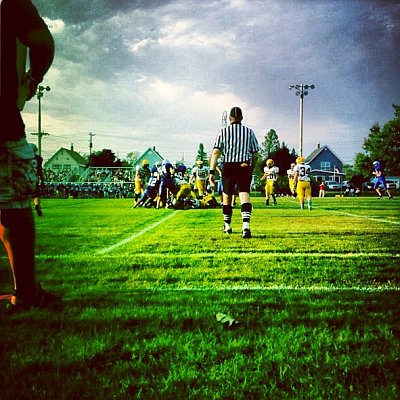 The Negaunee Miners defeat the Calumet Copperkings Thursday, August 30th 6-12 during Football Night in Negaunee on Sunny 101.9 WKQS