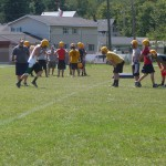 JV and Varsity football at Negaunee