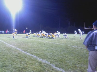 The Negaunee Miners & Gladstone Braves on the Field2 - Friday, September 7, 2012