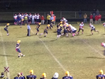 The Negaunee Miners and Westwood Patriots on the Field on Thursday, October 18, 2012 - Sunny 101.9 WKQS-FM