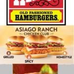 Asiago Chicken & Double Hamburger