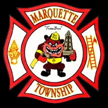 Fire in Marquette Township