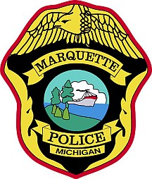 Two-vechicle accident in Marquette