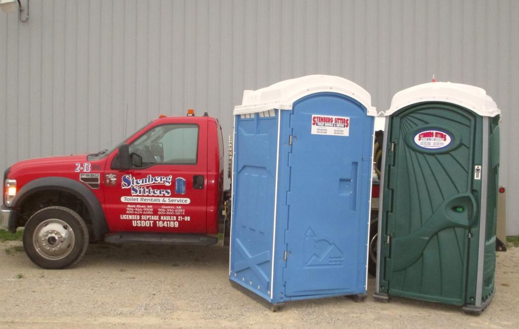 Stenberg Bros. Gwinn Mi portable toilets