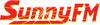 Sunny FM - Marquette, MI Radio Logo 100x25 Pixels