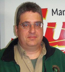 DNR Wildlife Biologist Brian Roell.