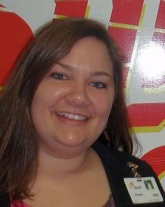 Danielle Wells, Regional Marketing Representative, BioLife Plasma Services.
