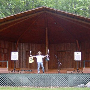 Mike Beauchamp, volunteer coordinator for the Music in the Park series.