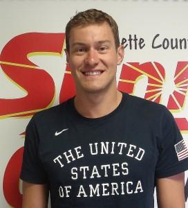 Olympic Swimmer Peter Vanderkaay.