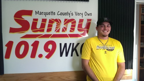 Carl Johnson--your NEW voice for the Negaunee Miners on Sunny.FM during Football Night in Negaunee
