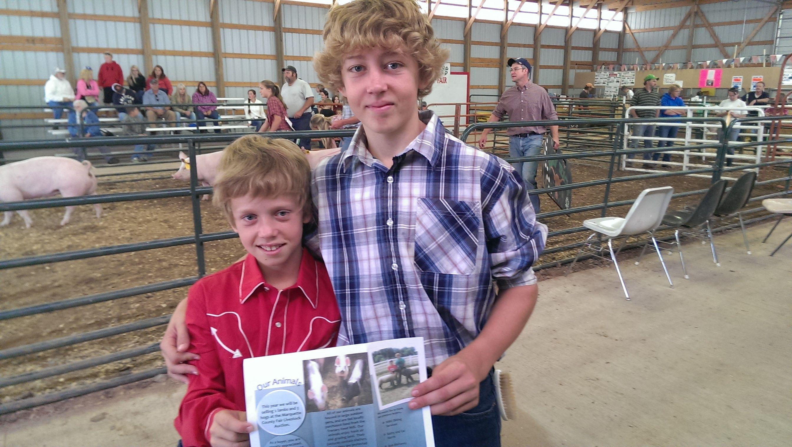 Marquette County Fair 2013