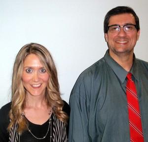 Monica Nordeen & Jeff Spencer.