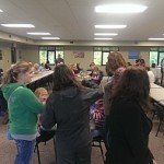 The Marquette Township Community Room was packed with Township Residents by 5:30pm