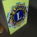 The Marquette Township Lions Club was on hand during the celebration at the all new Marquette Township Community Room
