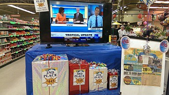 Look at all these prizes at Marquette's Tadych's Econo Foods that you could register to win!