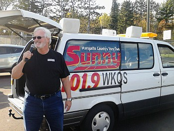 Mike Plourde - the voice of the Ishpeming Hematites on 98.3 WRUP brought you the Tailgate Party on Sunny.FM!
