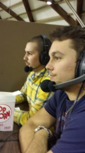 Jesse Anderson and Carl Leander Johnson will be back in the press-box for the 2014-2015 basketball season.