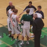 Negaunee Miners Boys Basketball vs Manistique Emeralds on Sunny.FM. 01/24/14
