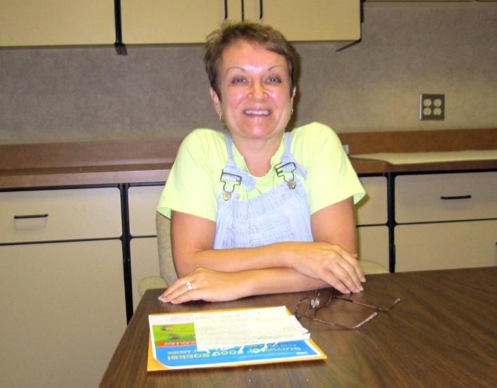 Barbie Ward Thomas - the food director at Gwinn Schools