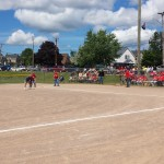 Beautiful day in Negaunee, MI for some softball.