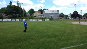 It was a beautiful day at LaComb Field in Negaunee!